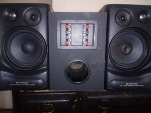 Pioneer speakers and subwoofer for Sale in Columbus, OH