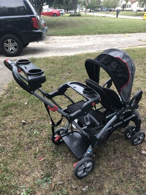Baby Trend Sit n stand double stroller for Sale in Raleigh, NC