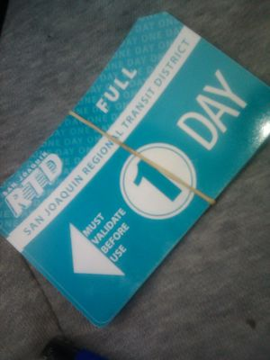 10 Rtd day pass for Sale in Stockton, CA