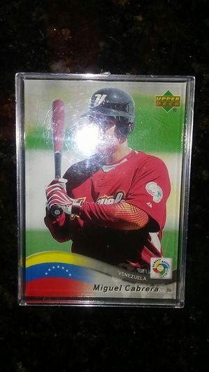 Miguel Cabrera Venezuela World Baseball Classic 2006 for Sale in BVL, FL