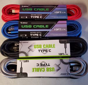 New 10 ft cable for type C for Sale in Riverside, CA
