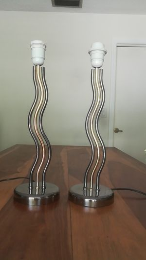 Set of Two Lamp Stands for Sale in Altamonte Springs, FL