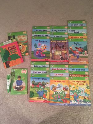 Leap Frog Tag Pen/Book Set for Sale in Waterford Township, MI