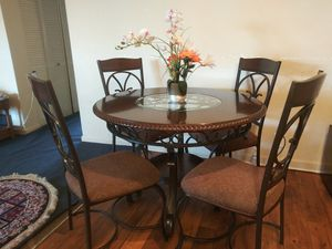 I have a dining 4 chair and table. for Sale in Nashville, TN