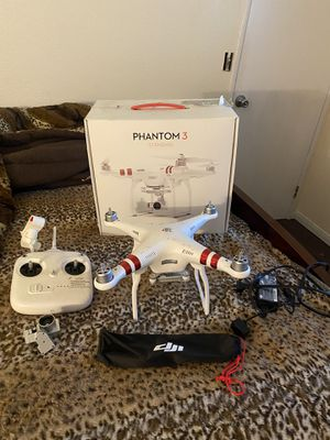 Dji phantom 3 for Sale in Wildomar, CA