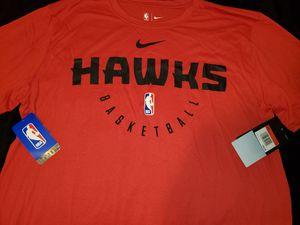 Atlanta Hawks Mens Basketball Nike Dri Fit Shirt New Large for Sale in San Diego, CA