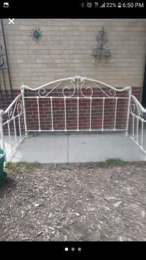 Vintage Iron Daybed Frame for Sale in Denver, CO