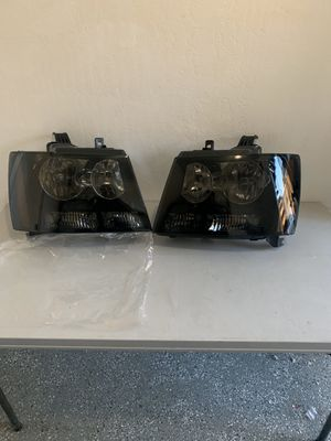 Chevy avalanche 07-14 new smoke headlights for Sale in Hayward, CA