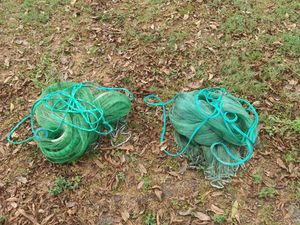 Two 12' cast nets 13' boat. for Sale in Quitman, GA