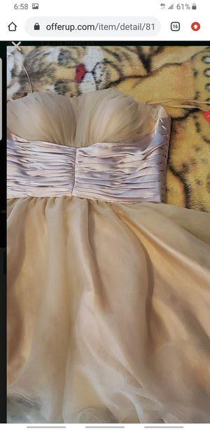 Gold dress for Sale in Rialto, CA