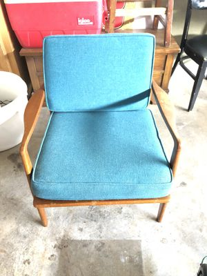 Yugoslavia vintage made chair original cushions for Sale in Fort Worth, TX
