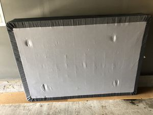 Full size box spring / spring type for Sale in Tewksbury, MA
