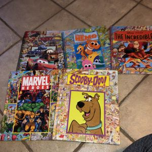 5 Search and Find Picture Marvel Nemo Books for Sale in Lansing, KS