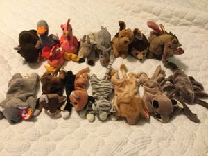 Retired beanie babies for Sale in Hemet, CA