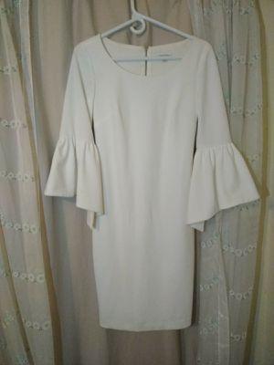 Calvin Klein white bell dress for Sale in Winter Haven, FL