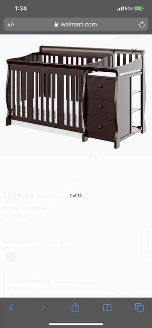 Crib with changing table for Sale in Hesperia, CA