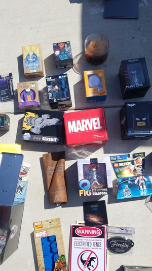 Marvel, Firefly, DC, and other collectibles. for Sale in Ontario, CA