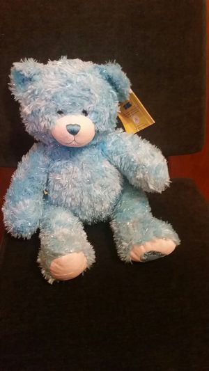 Build a Bear Brilliant Blue Teddy Limited Edition for Sale in Arlington, TX