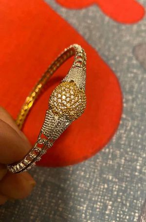 Indian gold plate bracelet 2.6 size for Sale in Queens, NY