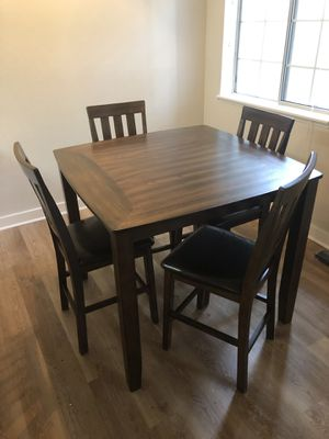 Ashley Furniture High-Top Dining Room Table for Sale in Silverdale, WA
