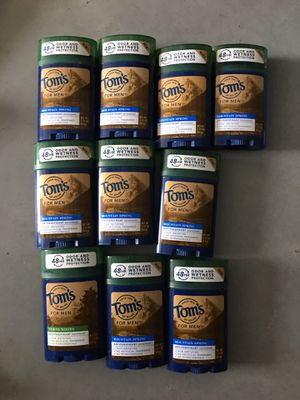 Toms of Maine deodorant 5 for $10 for Sale in Katy, TX
