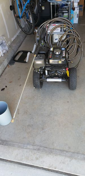 Simpson PowerShot 4000 PSI at 3.3 GPM Honda GX270 with AAA Triplex Pump Professional Gas Pressure Washer for Sale in Elk Grove, CA