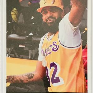 Nipsey Hussle Lakers Print And Poster In Glass Frame for Sale in West Covina, CA