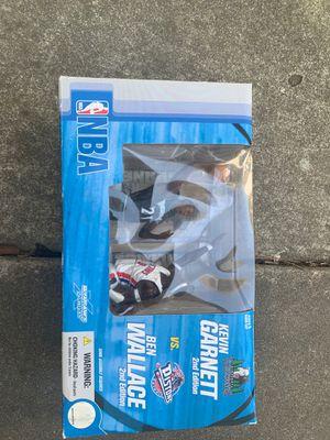 Kevin Garnett/Ben Wallace 04' toy figure for Sale in Stockton, CA