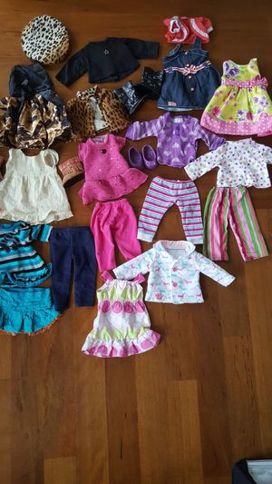 """18"""" Doll Clothes fits Battat, American Girl Madame Alexander Dolls $40 for Sale in Everett, WA"""