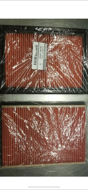2016+ Original Nissan/Infiniti Engine Air Filter 1654630P00 Set of 2 for Sale in Midway City, CA
