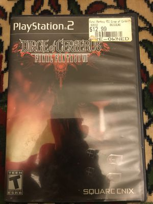 Dirge Of Cerberus Final Fantasy VII- PS2 for Sale in Denver, CO