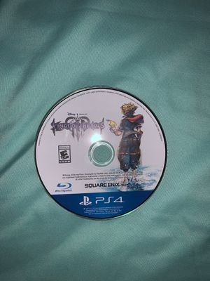 Kingdom Hearts 3 for ps4 for Sale in Waterbury, CT