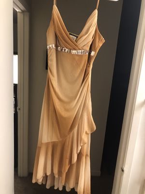 Gold Glitter Dress size XL for Sale in Burlingame, CA