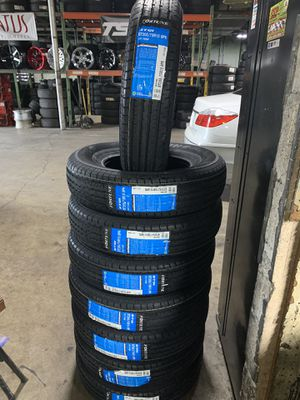 NEW! 205 75 15 FORTUNE TRAILER TIRES (SET OF 4)! MORE BRANDS AND SIZES AVAILABLE! CONTACT US! for Sale in Hialeah, FL