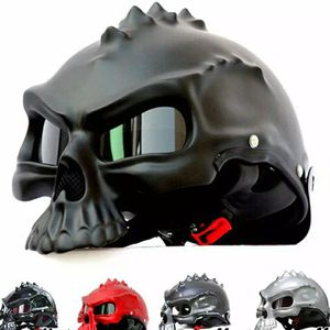 489 Dual Use Skull Motorcycle Helmet for Sale in Queens, NY