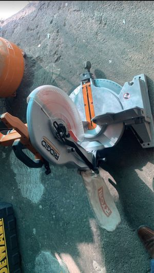 Riddgid table saw for Sale in Fullerton, CA