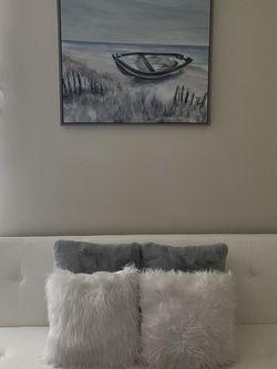 White Ashley Futon for Sale in Baltimore,  MD