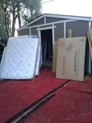 Set full 190 matress 4 less for Sale in Beaumont, CA