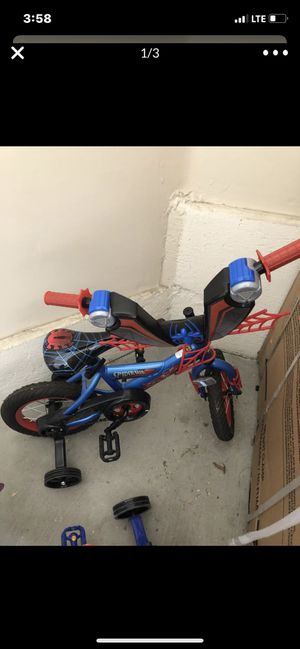 Spider man bycicle brand new for Sale in Las Vegas, NV