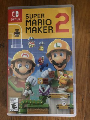 Mario Maker 2 for Nintendo switch for Sale in Providence, RI