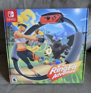 Ring Fit Adventure (Nintendo Switch, brand new) for Sale in Los Angeles, CA