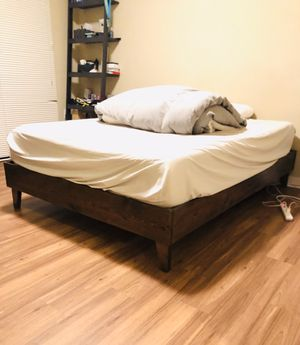 Full Size Wooden Bed Frame for Sale in Seattle, WA