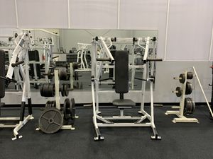 Hammer strength commercial/ home gym equipment for Sale in OH, US