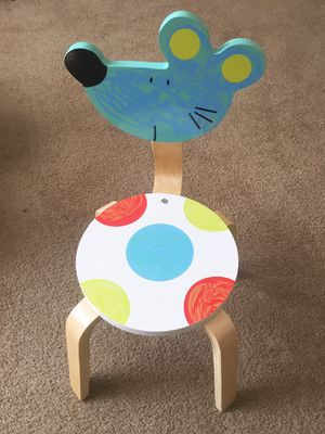 Children's chair set: while table + animal chairs for Sale in Buffalo, NY