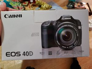 Canon eos 40d camera for Sale in Portland, OR