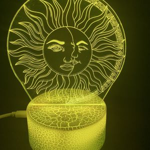 Beautiful Sun And Moon 3d Lamp for Sale in Las Vegas, NV
