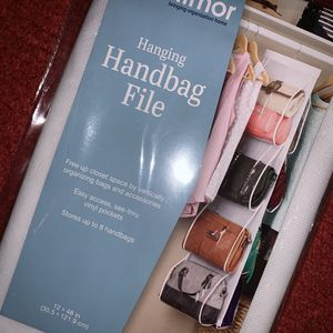 Hanging Handbag/Purse File Organizer for Closet for Sale in San Diego, CA
