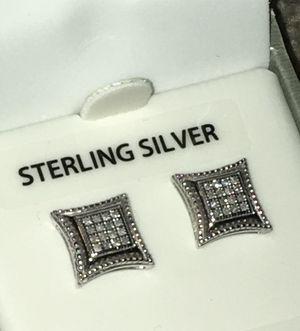 Genuine diamond earrings for Sale in Denver, CO