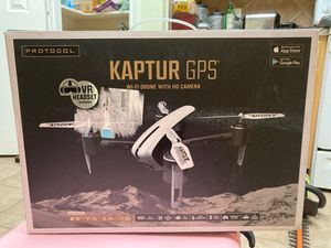 Protocol Kaptur GPS WiFi drone with HD camera for Sale in Houston, TX