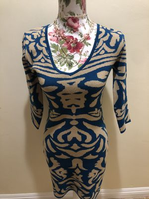 Women's Cold Weather Sweater Dress With Asian Style And Mid-Knee Length for Sale in Whittier, CA